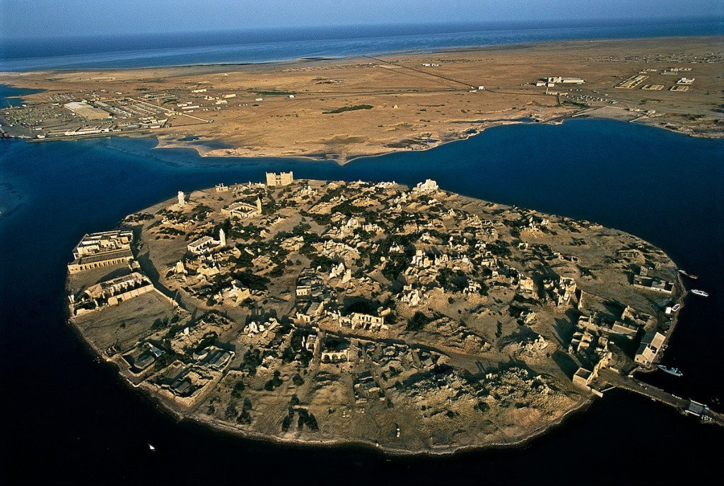 An overview photo of Suakin Island in Sudan. (File Photo)