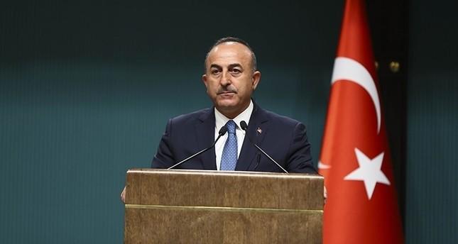 Foreign Minister Mevlüt Çavuşoğlu