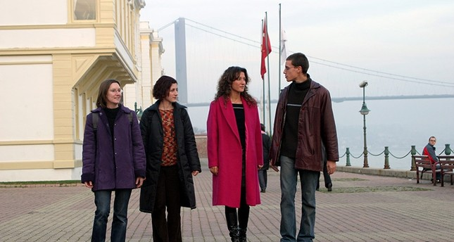 Exchange students pictured in Istanbul Galatasaray University (Sabah Photo)