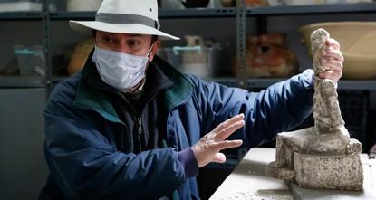 العثور على أكبر تمثال من العصر البرونزي في كول تيبه وسط الأناضول