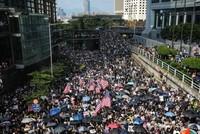 Hongkong: Bewegung bittet Ausland um Unterstützung