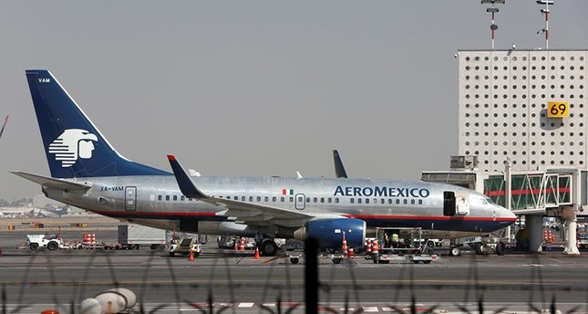 Aeromexico aeroplanes are pictured on the airstrip at Benito Juarez international airport in Mexico City, Mexico, Nov.  28, 2017 (Reuters File Photo)