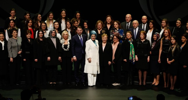 Energy and Natural Resources Ministry held the Women Empowering Turkey awards ceremony to honor women who have contributed to the Turkish energy industry to inspire the involvement of more women in the male-dominated sector, Istanbul, March 6.