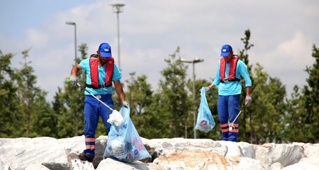 Turkey eyes mass recycling to keep coasts, seas clean