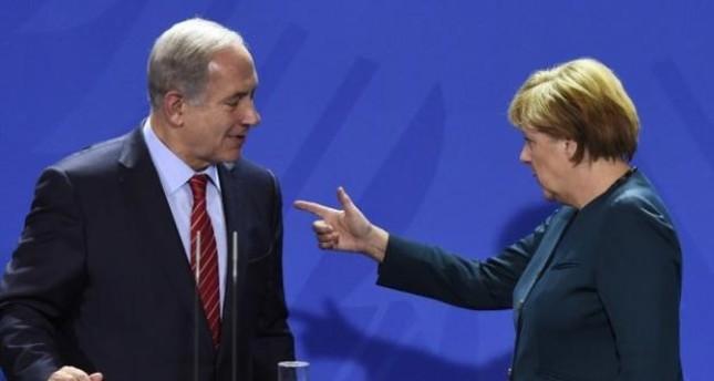 ميركل تؤكد لنتنياهو: لا بديل من حل الدولتين لتحقيق السلام في الشرق الأوسط