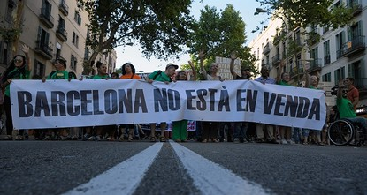 pTourism has become the main issue of concern for Barcelona's residents ahead of unemployment, according to a survey published Friday by the city hall of the popular seaside resort./p  pRising...
