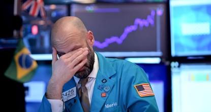 Wall Street under stress as coronavirus scares investors