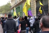 مظاهرة لمناصري بي كا كا/ ي ب ك في باريس  أرشيفية