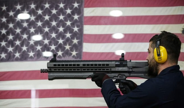 Weapons produced in factories in Antalya have been exported to 35 countries including the U.S, Canada and Russia. (AA Photo)