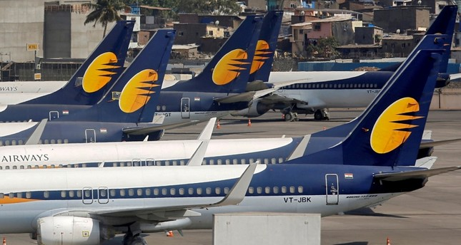 Founder of India's Jet Airways held at Mumbai airport