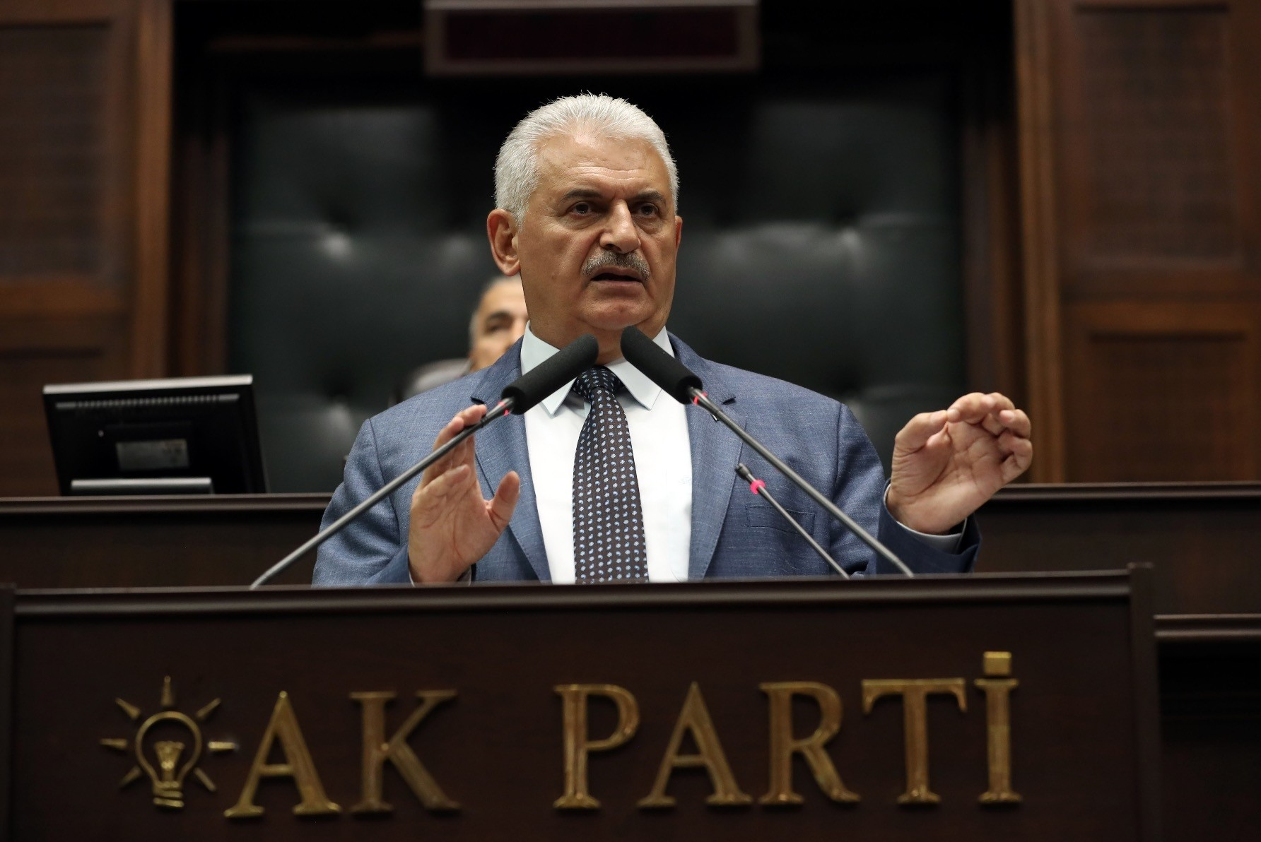 Speaking at the AK Partyu2019s weekly parliamentary group meeting, Prime Minister Yu0131ldu0131ru0131m said opposition CHP leader Ku0131lu0131u00e7darou011flu lost control after he called the July 15 putsch u201ca controlled coupu201d attempt.