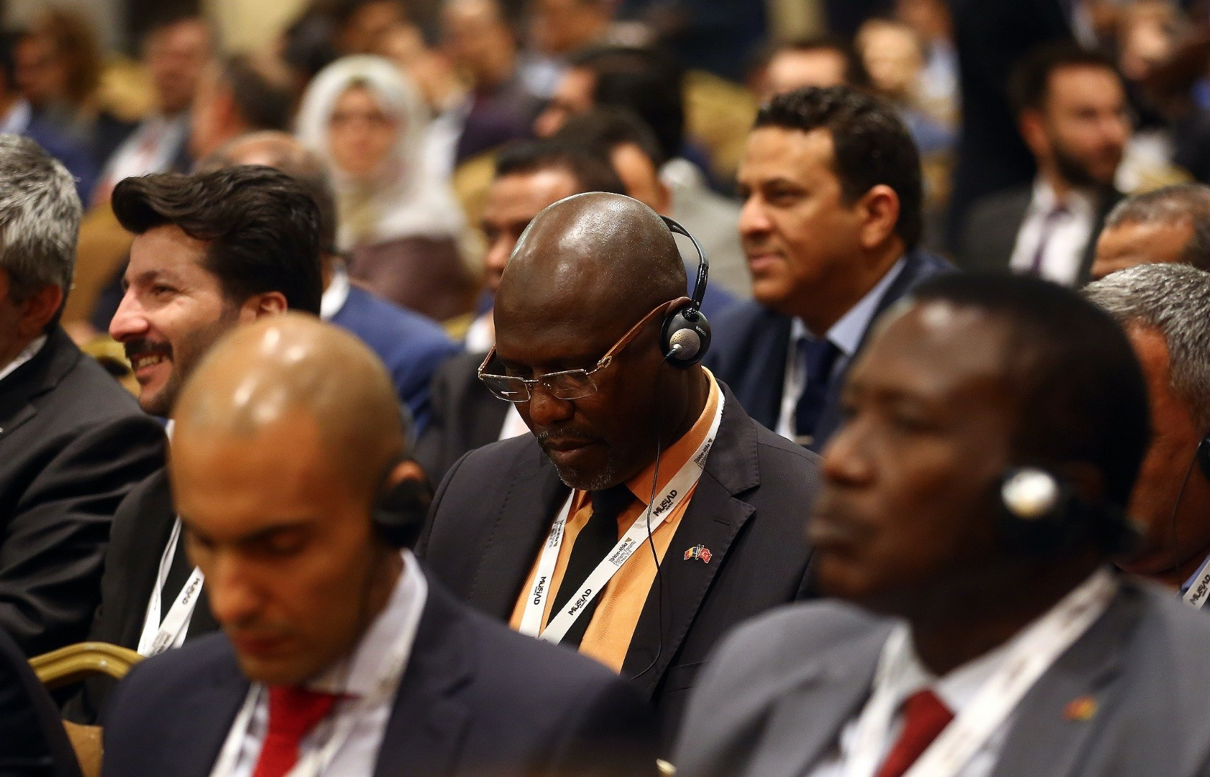 Turkish and African businesspeople convened at the  Turkey-Africa Economic Forum organized by Independent Industrialists and Businessmen Association (Mu00dcSu0130AD), Konya, May 9.