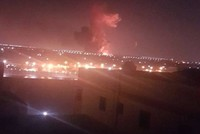 Explosion hits fuel tanks room near Cairo airport
