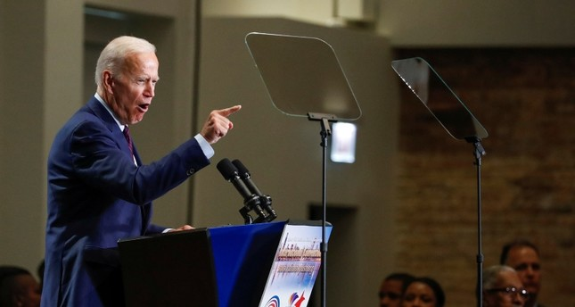 Democratic 2020 U.S. presidential candidate and former Vice President Joe Biden speaks at the Rainbow PUSH Coalition Annual International Convention Labor Luncheon, in Chicago, Illinois, U.S., June 28, 2019. (Reuters Photo)