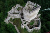 Крепость Зилкале в провинции Ризе привлекает туристов