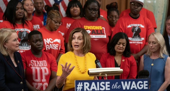 US Congress approves Democrat-backed bill raising federal hourly minimum wage to $15