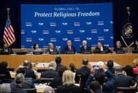 Trump thanks Erdoğan at UN religious freedom event
