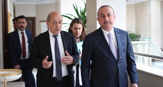 وزير الخارجية الفرنسي يصل أنقرة في زيارة رسمية