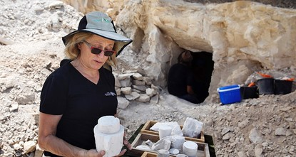pIsraeli archeologists unveiled a 2,000-year-old workshop for making stone vessels similar to those Jesus is believed to have used to miraculously turn water into wine./p