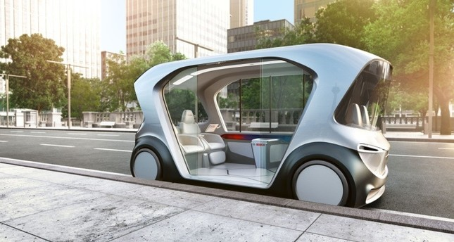 An autonomous electric car by Bosch was one of the highlights of CEA 2019.