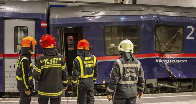 Zugunfall: 50 Verletzte am Salzburger Hauptbahnhof