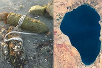 Drought at Sea of Galilee uncovers World War I Ottoman artillery shells