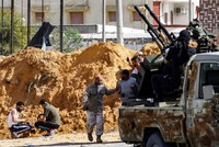 Haftar forces claim to capture camp south of Tripoli