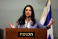Notorious Israeli minister Ayalet Shaked's 'fascist' perfume ad draws criticism