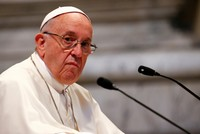 Pope to meet oil execs for climate change
