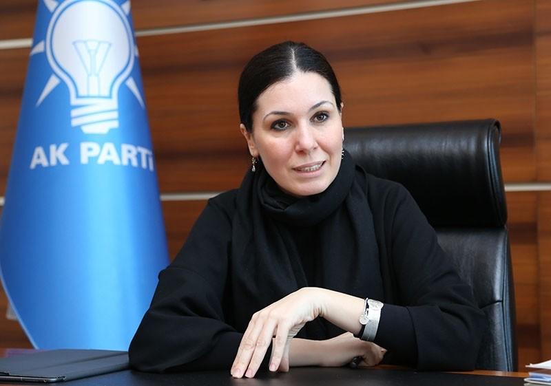 AK Party Deputy Chairwoman u00c7iu011fdem Karaaslan.