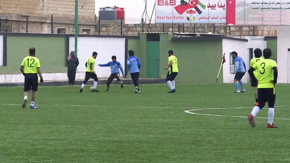 The 26-team football tournament in liberated northern Syria offers fans something to look forward to once again in the war-ravaged towns that were dragged into darkness by Daesh.