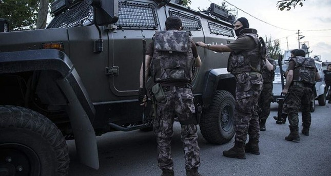 Special operations units preparing for an anti-terror operation in Istanbul are pictured in this undated photo (AA File Photo).