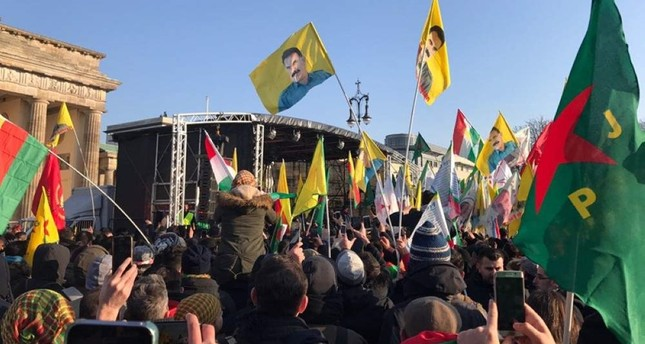 Iranian YPG terrorist tells supporters to attack Turkish community in Europe