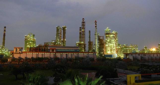 Indian Oil Refinery of Essar Oil at Vadinar village, near Jamnagar, some 380 km from Ahmedabad.