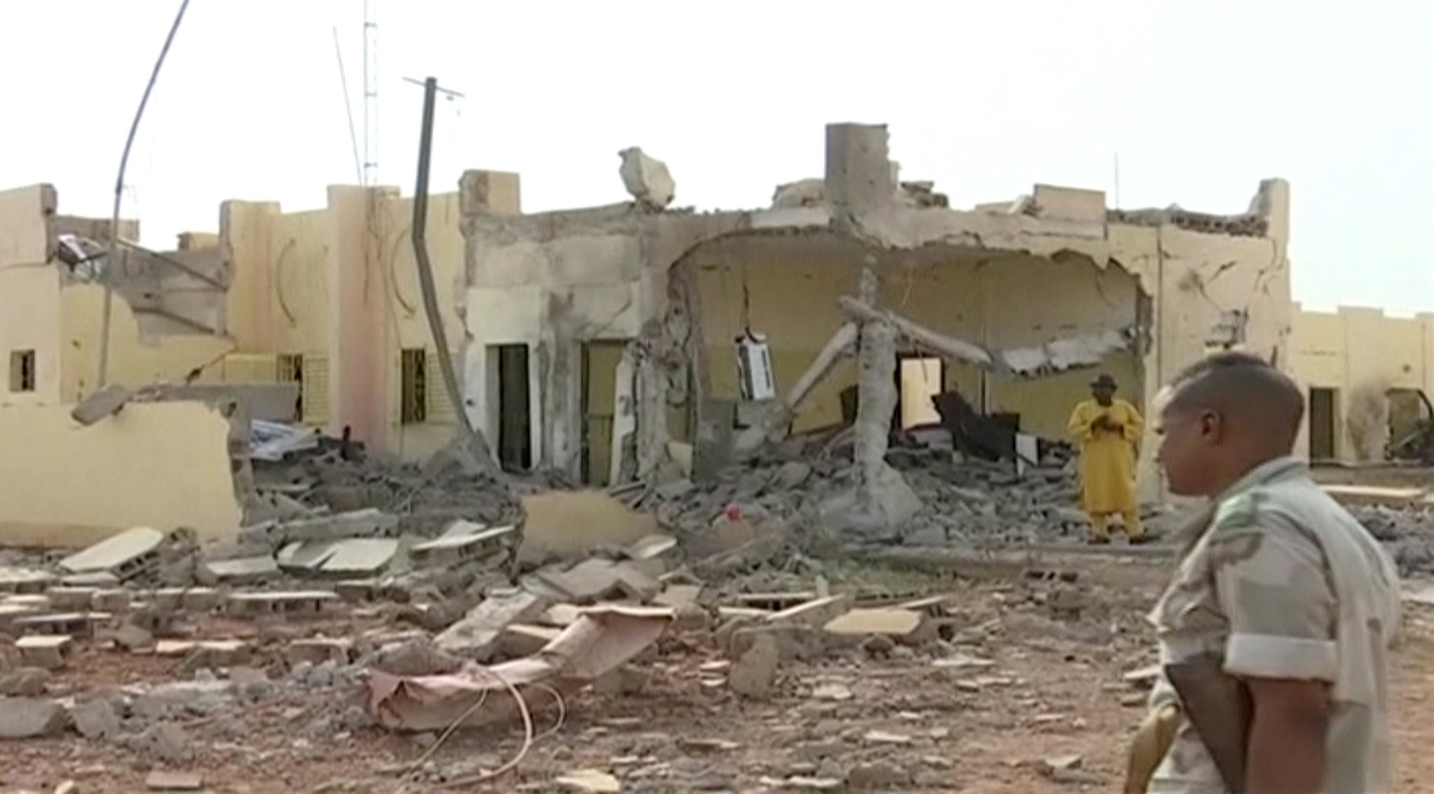 A suicide attack on the headquarters of the regional Sahel force, G5 killed two soldiers and  a civilian in the Malian town of Savare, June 29.