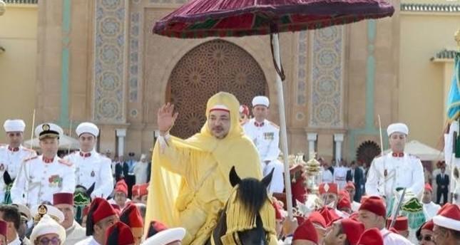 حفل الولاء الملك محمد السادس ملك المغرب ، الرباط ، المغرب ، 30 يوليو 2019