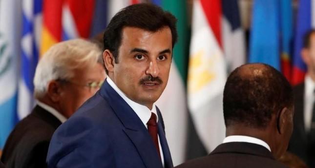 Qatari Emir Sheikh Tamim bin Hamad Al Thani (Reuters Photo)