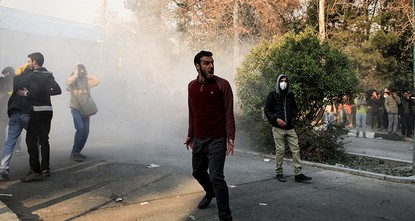 pA semi-official news agency in Iran has quoted a government official as saying two protesters were killed at a rally overnight, as the protests over economic conditions continued for a third night...