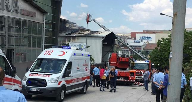 Ankara Explosion in Fabrik – zwei Tote, drei Verletzte