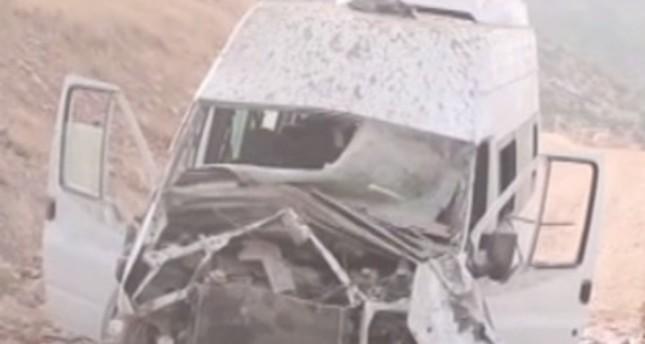 PKK blasts truck in Turkey's southeastern Siirt province