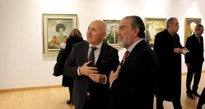 لأول مرة بالأردن.. معرض لوحات حفيد السلطان العثماني محمد رشاد