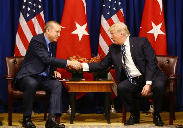 Erdoğan said apart from Syria and Iraq, the talks had centered on Turkey's demand for the U.S. to play a more active against FETÖ, responsible for last year's deadly coup attempt.