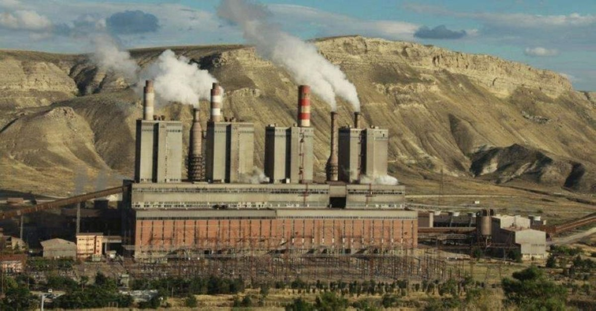 A thermal power plant in Ankara.