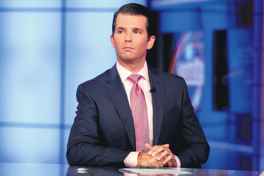Donald Trump Jr. released a series of emails that revealed last year he eagerly agreed to meet a Russian lawyer who claimed to have damaging information about Democratic rival Hillary Clinton as part of Moscow's official support for his father.
