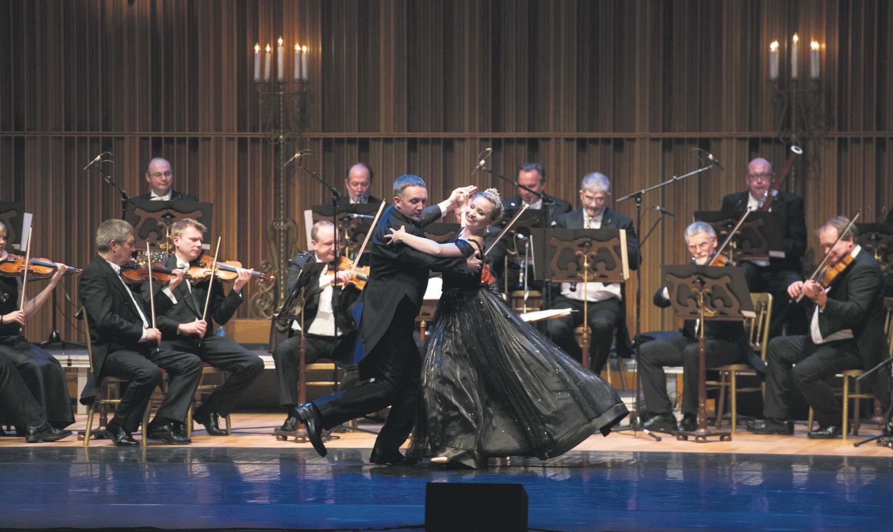 The special new year concert for 2018 will be performed by the Johann Strauss Orchestra, conducted by John Rigby on Jan. 4.