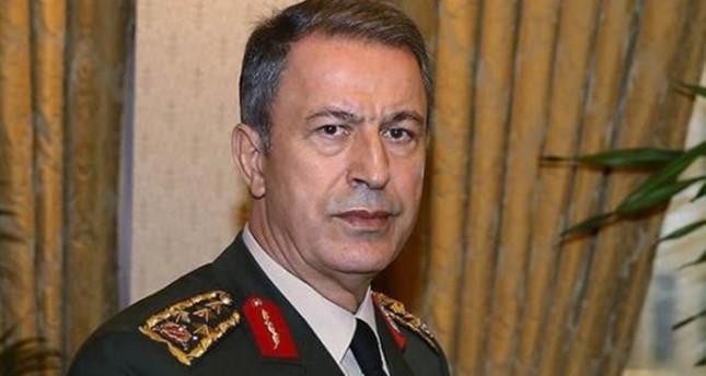 خلوصي أكار - رئيس أركان الجيش التركي