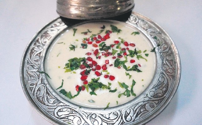 A traditional soup from Ottoman cuisine.