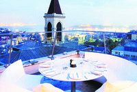 Panoramic views and a cozy atmosphere on Istanbul's rooftops