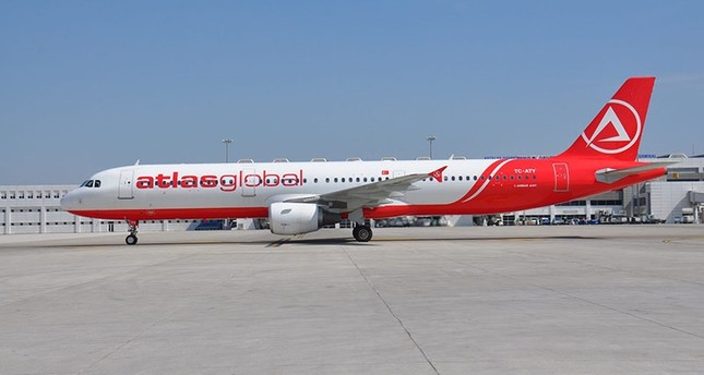 Copenhagen Airport closes some gates, prevents Turkish airliner Atlasglobal's flight upon threat
