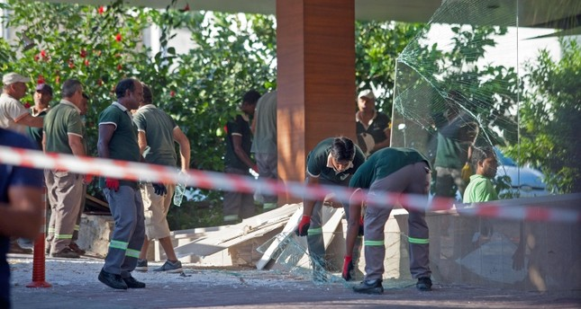 Blast at TRNC ammunition depot sparks fire, causes damage in nearby hotel